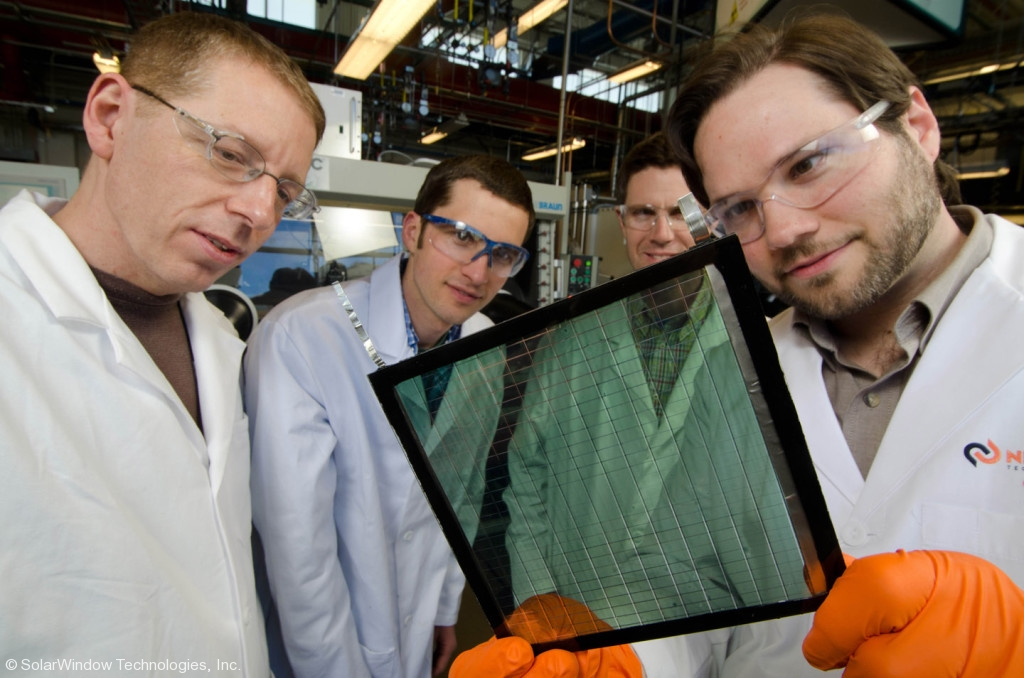 Solar Window technology