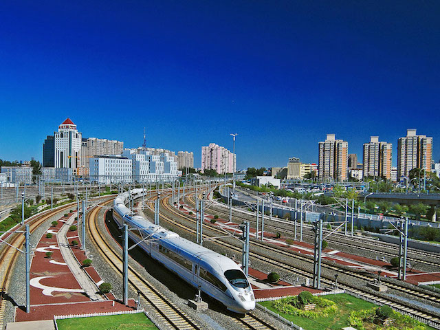 Beijing - rail for super city in China