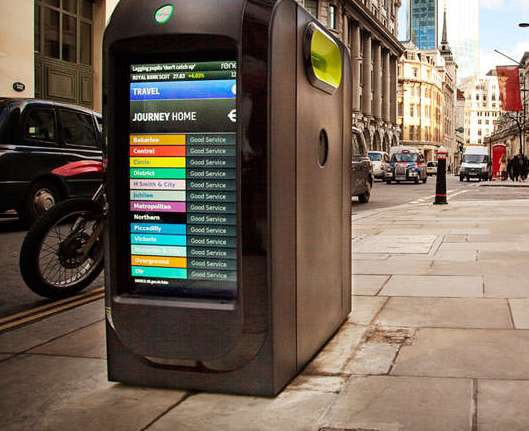 The Internet of Things Smart Bins and Wifi